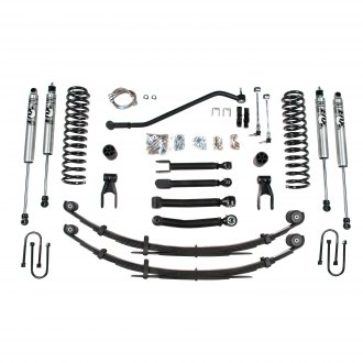 "BDS Suspension® - 4.5"" x 4"" Standard Front and Rear Suspension Lift Kit"