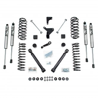 "BDS Suspension® - 4"" x 3.5"" Standard Front and Rear Suspension Lift Kit"