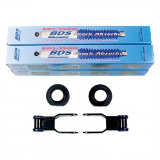"BDS Suspension® - 0.75"" x 1"" Standard Front and Rear Suspension Lift Kit"