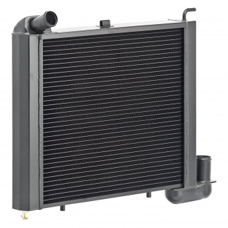 Be Cool® - OE Restoration Black Downflow Radiator