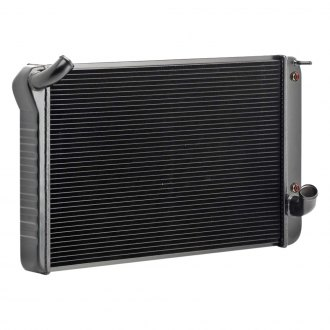 Be Cool® - OE Restoration Black Crossflow Radiator