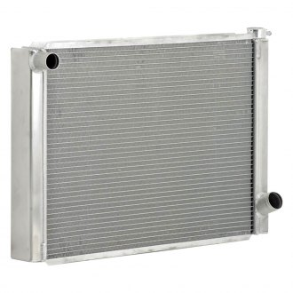 "Be Cool® - Circle Track Single Pass Radiator With Dual 1"" Core"