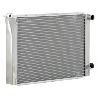 "Be Cool® - Circle Track Dual Pass Radiator With Dual 1"" Core and 1-1/2"" Inlet"