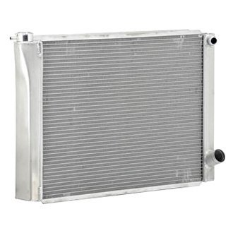 "Be Cool® - Circle Track Dual Pass Radiator Dual 1"" Core & 16 AN Inlet"