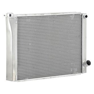 "Be Cool® - Circle Track Dual Pass Radiator With Dual 1"" Core and 16 AN Inlet"