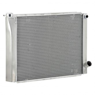 "Be Cool® - Circle Track Dual Pass Radiator With Dual 1"" Core and 20 AN Inlet"