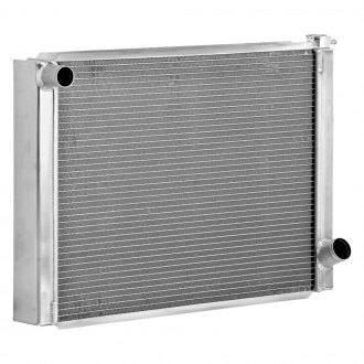 "Be Cool® - Triple Pass Race Radiator Dual 1"" Core with 1-1/2"" Inlet"