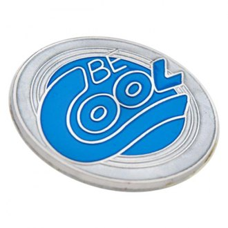Be Cool® - Embossed Round Emblem