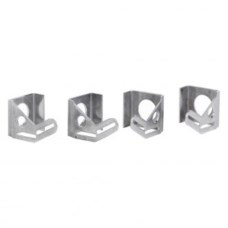 Be Cool® - Natural Aluminum Mounting Brackets
