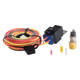 Be Cool® - Electric Fan Wiring Harness Kit With Sending Unit