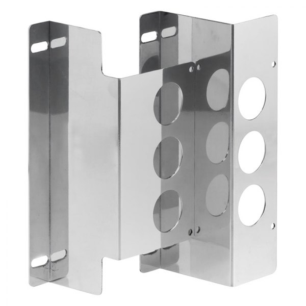 Be Cool® - Polished Left & Right Condenser Brackets