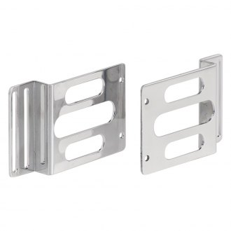 Be Cool® - Polished Aluminum Universal Condenser Brackets
