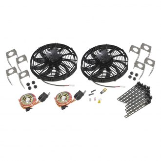 "Be Cool® - 13"" Euro Black High Torque Fan Module"