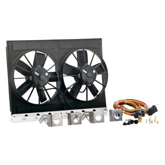 "Be Cool® - 11"" Euro Black High Torque Fan Module"