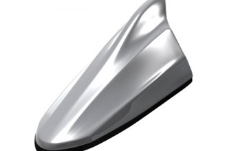 Beat-Sonic® FDA4S-G1U - 4 Series Ice Silver Metallic Shark Fin Antenna
