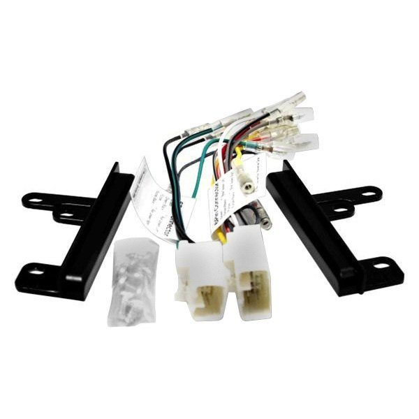 Beat-Sonic® - Double DIN Black Stereo Dash Kit