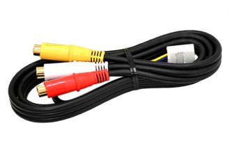Beat-Sonic® - Audio/Video RCA Input Cable Harness