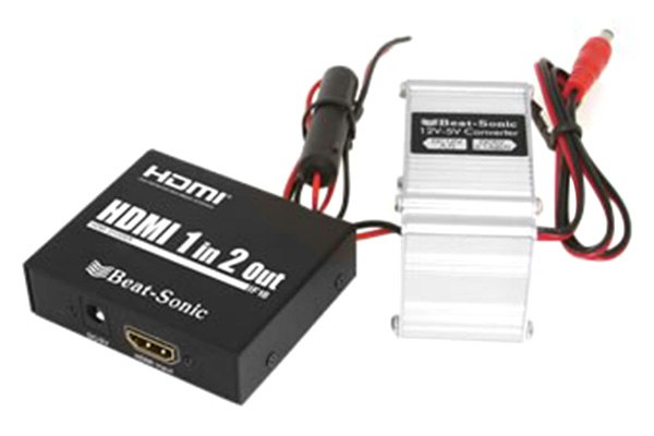 Beat-Sonic® - 1 Into 2 HDMI Splitter