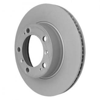 Beck Arnley® - TRUE Metal™ Zimmerman Vented 1-Piece Front Brake Rotor