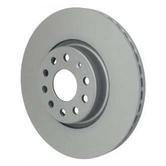 Beck Arnley® - TRUE Metal™ Zimmerman Front Plain Brake Rotor