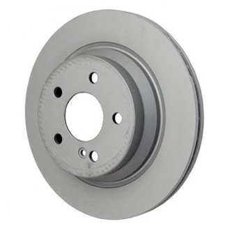 Beck Arnley® - TRUE Metal™ Zimmerman Vented 1-Piece Rear Brake Rotor