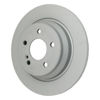 Beck Arnley® - TRUE Metal™ Zimmerman Rear Plain Brake Rotor