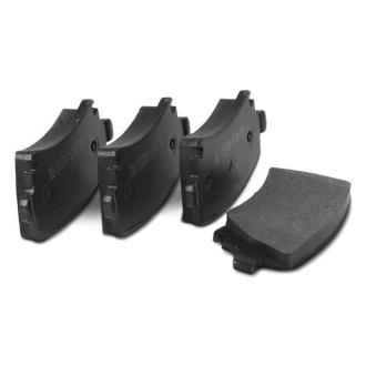Beck Arnley® - Foreign Branded™ Semi-Metallic Front Disc Brake Pads