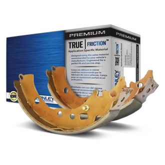 Beck Arnley® - TRUE Shoes™ Rear Drum Brake Shoes