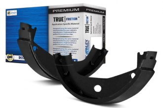 Beck Arnley® - TRUE Shoes™ Rear Parking Brake Shoes