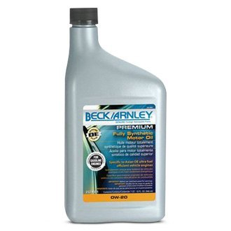 Beck Arnley® - Fully Synthetic SAE 0W-20 Motor Oil