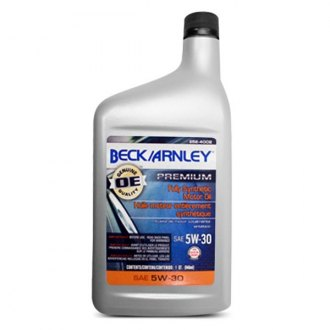 Beck Arnley® - SAE 5W-30 Fully Synthetic Motor Oil