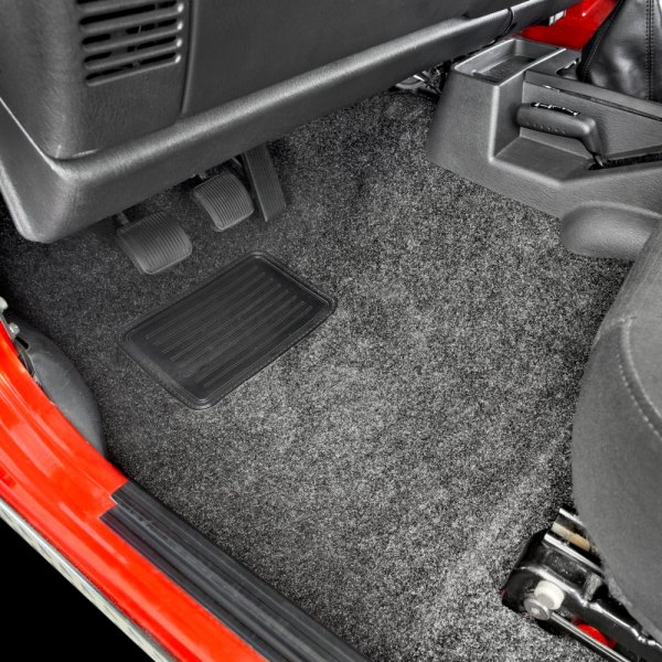 Image may not reflect your exact vehicle! BedRug® - Front Floor Liner Kit