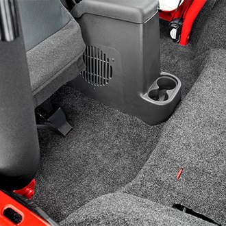 2011 jeep wrangler floor mats carpet all weather custom logo. Black Bedroom Furniture Sets. Home Design Ideas