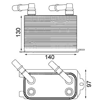 Behr® - Automatic Transmission Oil Cooler