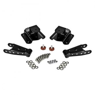 "Belltech® - 4"" Rear Lowering Leaf Spring Shackles and Hangers"