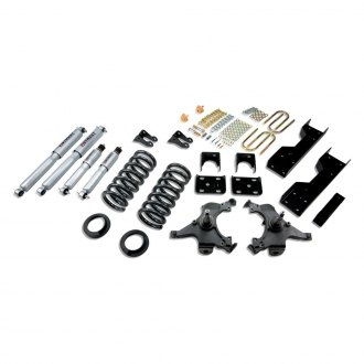 "Belltech® - 4""-5"" x 6"" Front and Rear Lowering Kit"