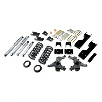 "Belltech® - 4""-5"" x 6""-7"" Front and Rear Lowering Kit"