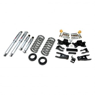 "Belltech® - 1""-2"" x 4"" Front and Rear Lowering Kit"