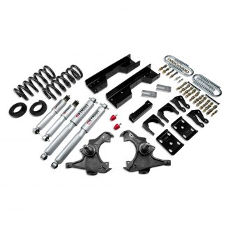 "Belltech® - 4""-5"" x 8"" Front and Rear Lowering Kit"