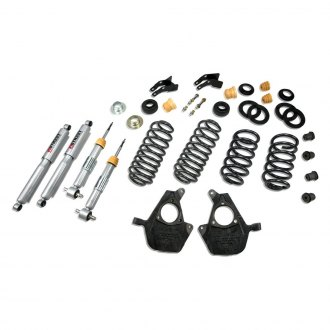 "Belltech® - 3""-4"" x 3""-4"" Front and Rear Lowering Kit"