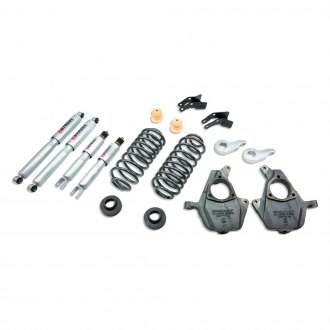 "Belltech® - 3""-4"" x 4""-5"" Front and Rear Lowering Kit"
