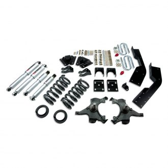 "Belltech® - 4""-5"" x 7"" Front and Rear Lowering Kit"