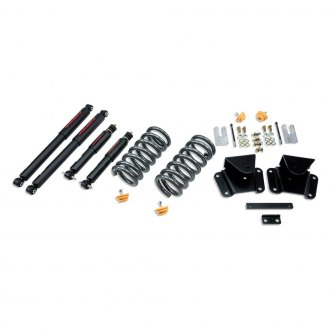 "Belltech® - 1"" x 2"" Front and Rear Lowering Kit"