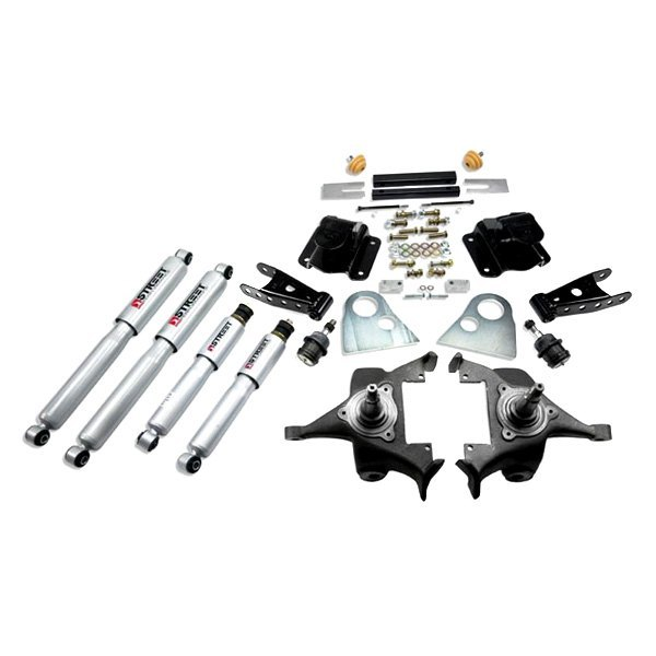 Belltech 174 Dodge Ram 1500 Rwd 1996 2 Quot X 4 Quot Front And Rear