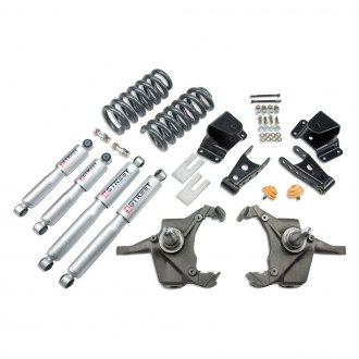 "Belltech® - 4"" x 4"" Front and Rear Lowering Kit"