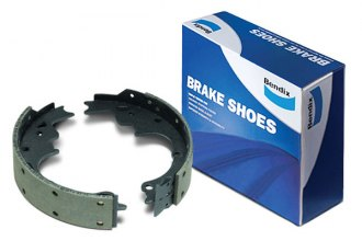 Bendix® - Fleet Relined Semi-Metallic Rear Brake Shoes
