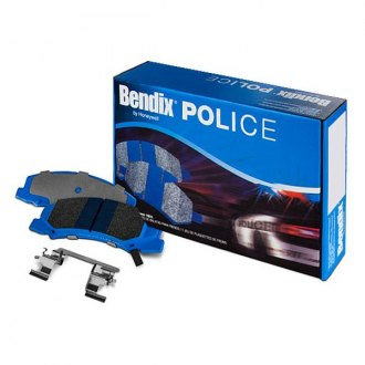 Bendix® - POLICE™ Integrally Molded Semi-Metallic Brake Pads