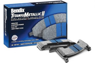 Bendix® - TitaniuMetallic™ II Semi-Metallic Brake Pads