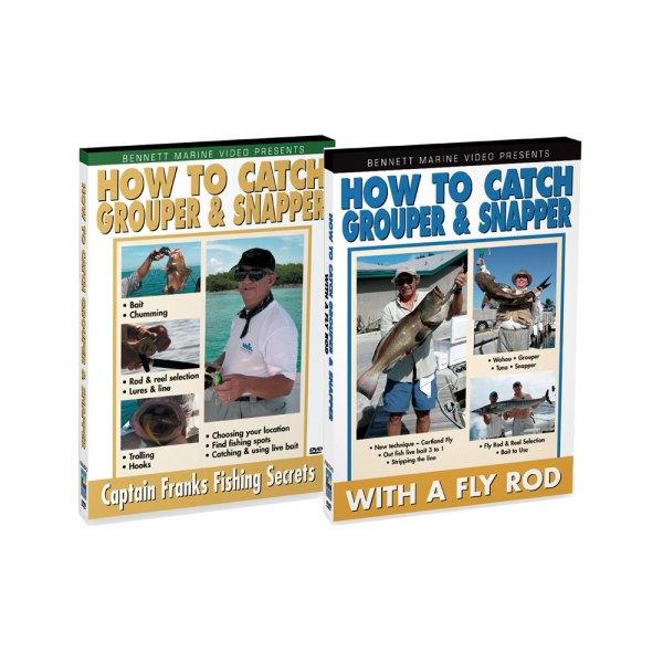 Bennett marine sgrouperdvd grouper set for Fishing rod repair shops near me