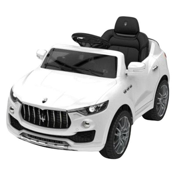 Best Ride On Cars Maserati VWhite Maserati V White - Ride on cars